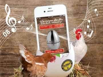 Laden Sie sich die Eieruhr-App herunter