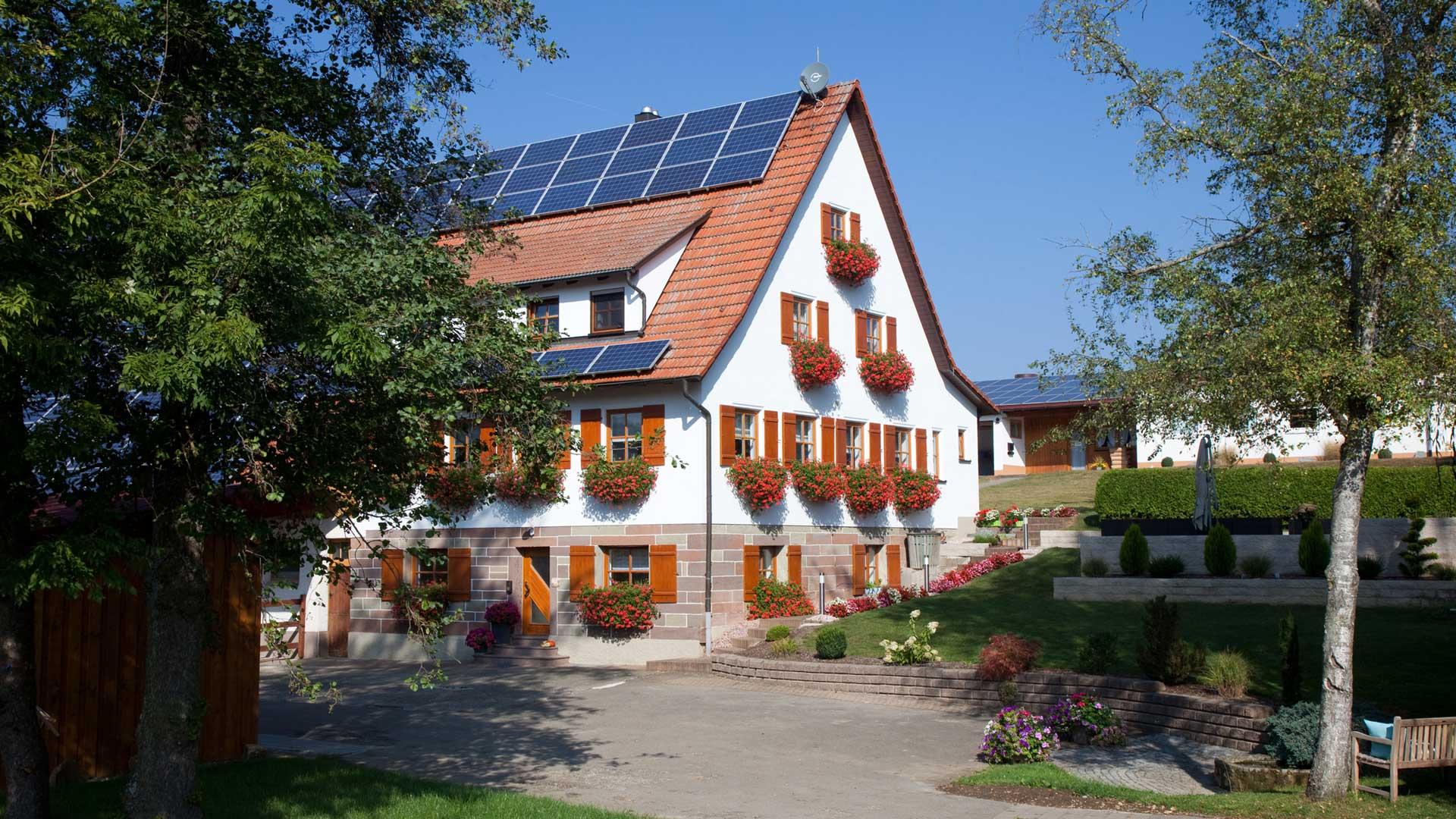 Das historische Haus des Steinefurthofs